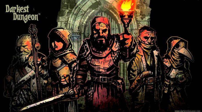 Рисунок 5 персонажей игры Darkest Dungeon
