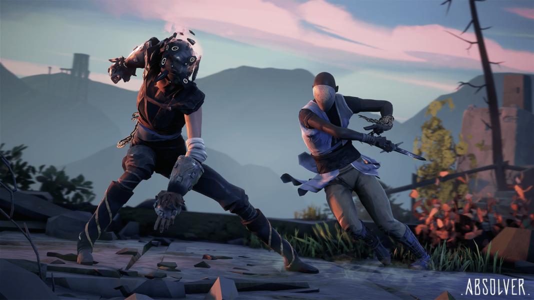 Постер игры Absolver.Бой двух игроков.
